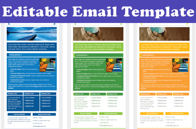 saleemwebs - fiverr - I Will Create Responsive Html Email Template