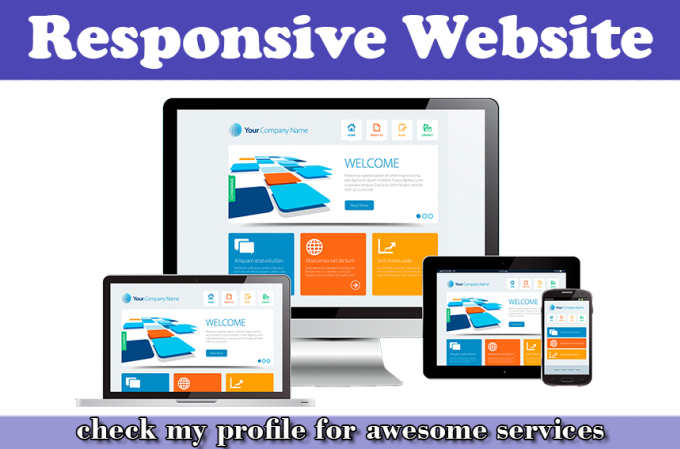 saleemwebs - fiverr - I Will Create Fully Responsive Website