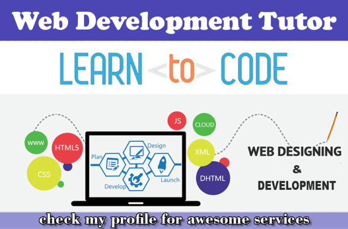 saleemwebs - fiverr - I Will Be Your Web Development Tutor