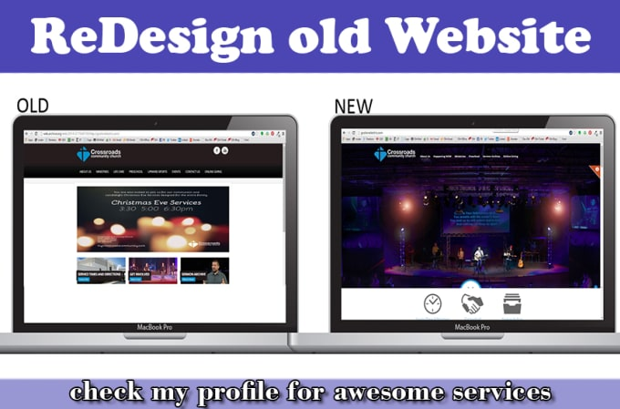 saleemwebs - fiverr - I Will Redesign Your Site To Modern Responsive Look