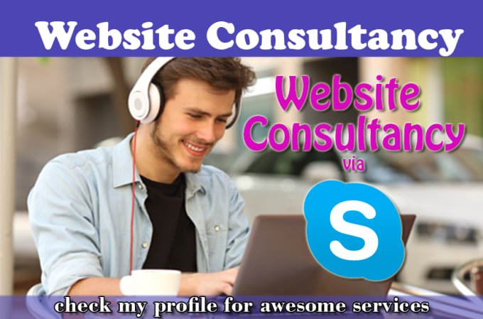 saleemwebs - fiverr - I will do skype chat or call about your website